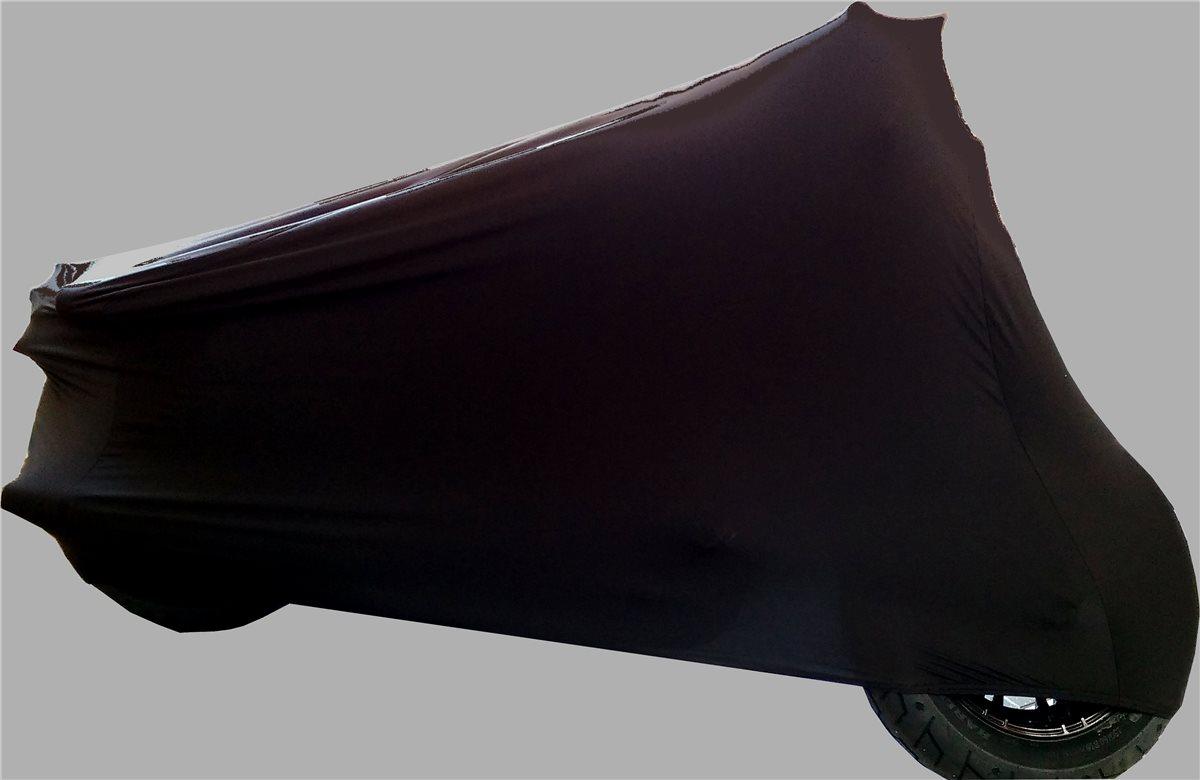 """Motorradschutzdecke Abdeckplane /""""Perfect Stretch/"""" Innen Moto Guzzi Nevada 750"""